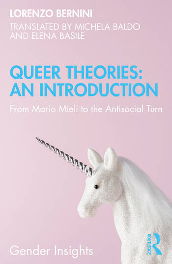 Queer Theories: An Introduction : From Mario Mieli to the Antisocial Turn book cover
