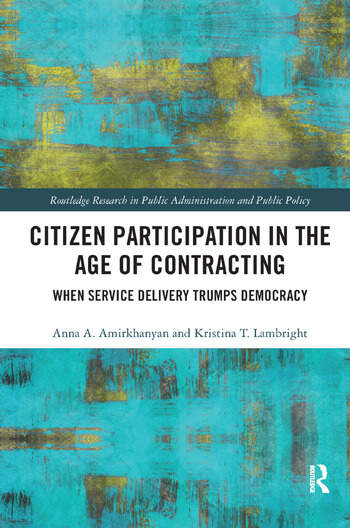Citizen Participation In The Age Of Contracting When Service Delivery