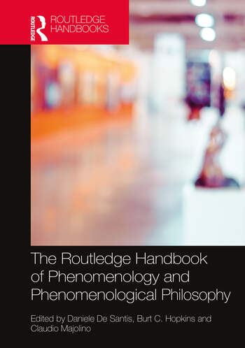 The Routledge Handbook of Phenomenology and Phenomenological Philosophy Couverture du livre