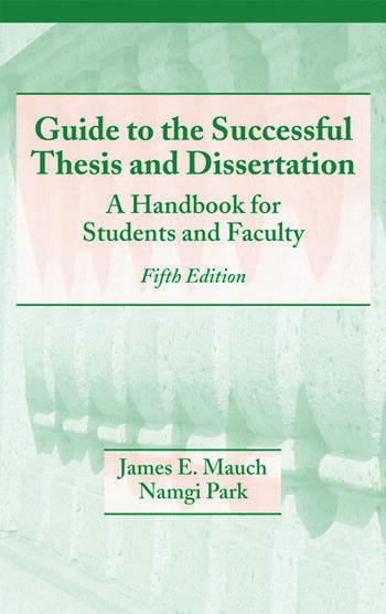 Dissertation & Thesis Handbook | Temple University Graduate School