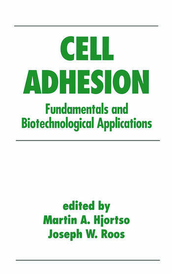 Cell Adhesion In Bioprocessing And Biotechnology 1st Edition Marti