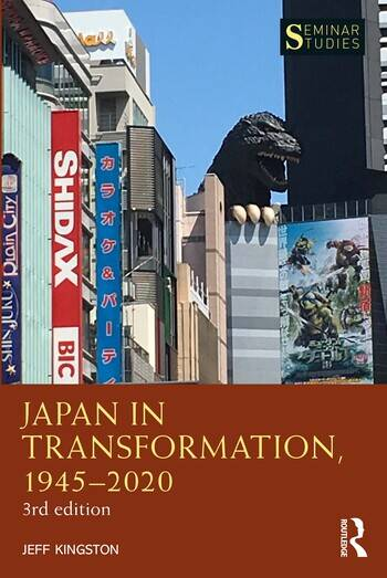 Japan in Transformation, 1945–2020, Third Edition book cover