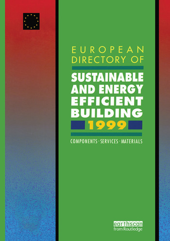 Services Materials European Directory of Sustainable and Energy Efficient Building 1999 Components