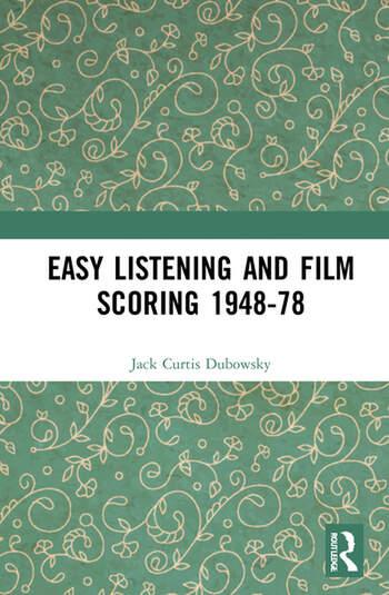 Dubowsky Easy Listening Film Scoring Book Cover