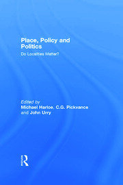 Place, Policy and Politics - 1st Edition book cover