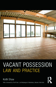 Vacant Possession - 1st Edition book cover