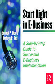 Start Right in E-Business - 1st Edition book cover