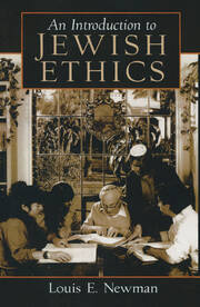 Introduction to Jewish Ethics - 1st Edition book cover