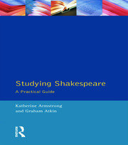 Studying Shakespeare - 1st Edition book cover