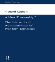 A New Trusteeship? - 1st Edition book cover