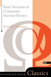 Basic Notions Of Condensed Matter Physics - 1st Edition book cover