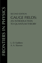 Gauge Fields - 2nd Edition book cover