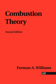 Combustion Theory - 2nd Edition book cover