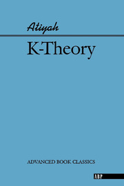 K-theory - 1st Edition book cover