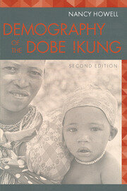Demography of the Dobe! Kung - 2nd Edition book cover