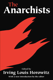 The Anarchists - 1st Edition book cover
