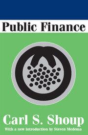 Public Finance - 1st Edition book cover