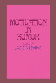 Motivation in Humor - 1st Edition book cover