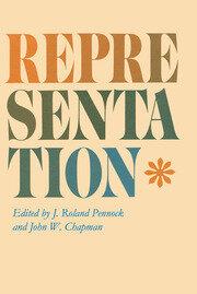 Representation - 1st Edition book cover