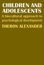 Children and Adolescents - 1st Edition book cover