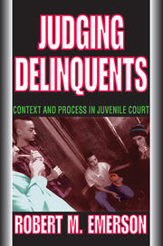 Judging Delinquents - 1st Edition book cover
