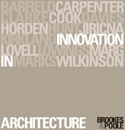 Innovation in Architecture - 1st Edition book cover
