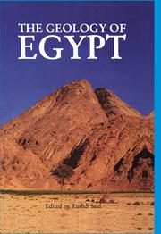 The Geology of Egypt - 1st Edition book cover