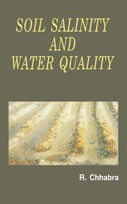 Soil Salinity and Water Quality - 1st Edition book cover
