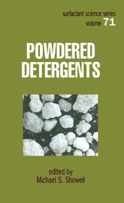 Powdered Detergents - 1st Edition book cover