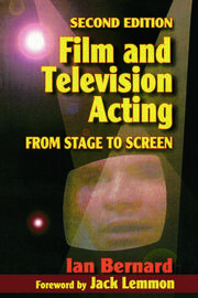 Film and Television Acting - 2nd Edition book cover