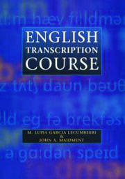 English Transcription Course - 1st Edition book cover