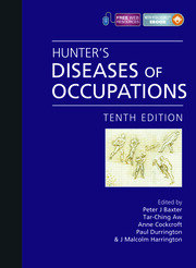 Hunter's Diseases of Occupations - 10th Edition book cover