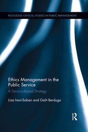 Ethics Management in the Public Service - 1st Edition book cover