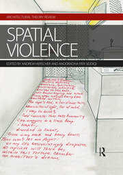 Spatial Violence - 1st Edition book cover