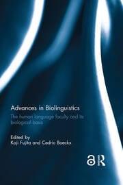 Advances in Biolinguistics book cover