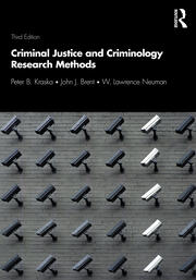Criminal Justice and Criminology Research Methods - 3rd Edition book cover