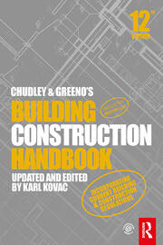 Chudley and Greeno's Building Construction Handbook -  12th Edition book cover