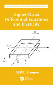 Higher-Order Differential Equations and Elasticity - 1st Edition book cover
