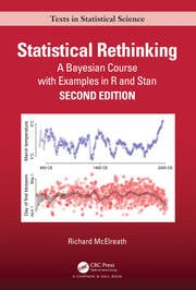 Statistical Rethinking : A Bayesian Course with Examples in R and STAN - 2nd Edition book cover