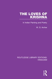 The Loves of Krishna - 1st Edition book cover