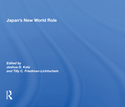 Japan's New World Role -  1st Edition book cover
