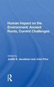 Human Impact On The Environment -  1st Edition book cover
