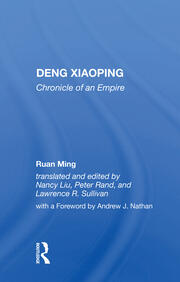 Deng Xiaoping -  1st Edition book cover