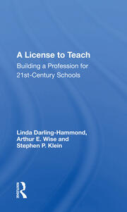 A License To Teach -  1st Edition book cover
