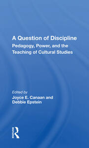 A Question Of Discipline -  1st Edition book cover