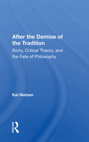 After The Demise Of The Tradition -  1st Edition book cover