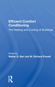 Efficient Comfort Conditioning -  1st Edition book cover