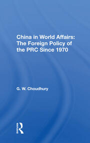 China In World Affairs -  1st Edition book cover