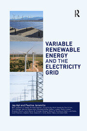 Variable Renewable Energy and the Electricity Grid - 1st Edition book cover