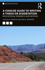 A Concise Guide to Writing a Thesis or Dissertation - 2nd Edition book cover
